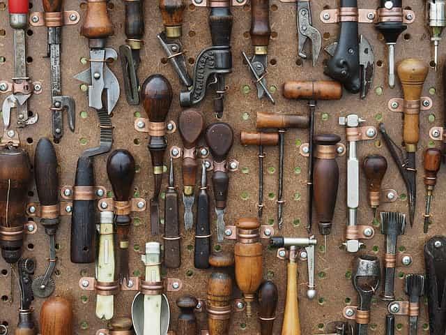 bon bricoleur, bons outils